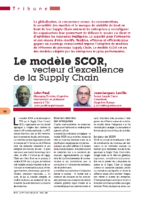 SCOR Le modele SCOR vecteur d-excellence de la Supply Chain