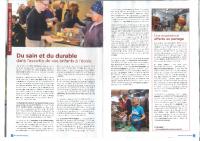 Du sain et du durable dans l'assiette de vos enfants à l'école (Namur)