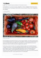 Manger local: «Je pensais que ça aurait été plus compliqué et plus cher»