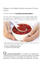 Pourquoi vaut-il mieux éviter de consommer les baies de goji ?