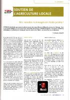 Promotion de la viande Wallonne