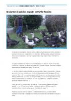 Un abattoir de volailles en projet en Ourthe-Amblève