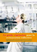 Le guide végétarien pour la restauration collective