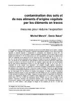 Courrier de l'environnement de l'INRA n°52, septembre 2004