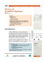 AGROFOR Matiere_organique