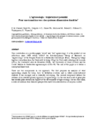 Agroecologie_Trajectoire_potentiels