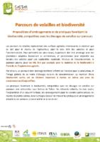 CASDAR Parcours-Volailles Fiches-Biodiversite