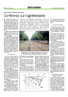 Conference_Agroforesterie_UCL-2012