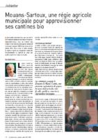 Mouans-Sartoux, une régie agricole