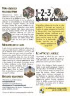 ABEILLES Les ruches urbaines