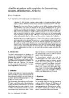 Abeilles et guêpes anthropophiles du Luxembourg