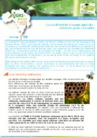 La biodiversité à usage agricole