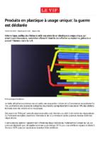 Produits en plastique à usage unique :  la guerre est déclarée (en Europe)