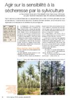 CLIMAT_Agir sur la sensibilité à la sécheresse par la sylviculture
