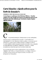 Quels arbres pour la forêt de demain