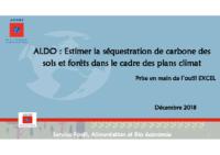 ALDO – Tutoriel de prise en main de l'outil