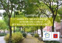 Synthese du guide l'arbre acteur du climat en milieu urbain 2018