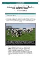 Face aux consommateurs et à la grande distribution, le modèle agricole actuel souffre… mais des solutions existent – SillonBelge.be